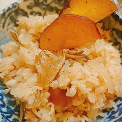 まいたけと生姜の炊き込みご飯