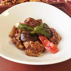 豚肉と野菜の甜面醤炒め