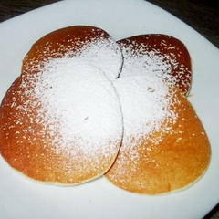 しょうがみりんで米粉パンケーキ