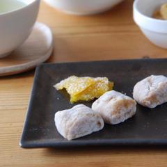 黒糖クルミ柚餅子