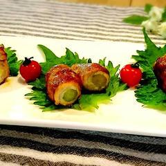 ハイライフポークの旬の野菜甘辛巻き
