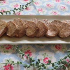 鍋で茹でるだけ簡単豚ヒレ肉の角煮