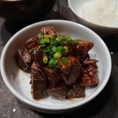 ハイライフポーク☆豚バラどて煮