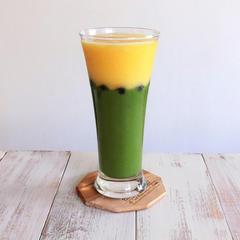 小松菜とパイナップルのグリーンスムージー☆