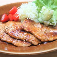 基本の豚の生姜焼き