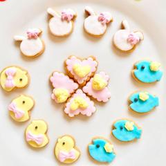 マシュマロフォンダントデコ用さくさくクッキー♪