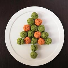 抗酸化に 橙色クリスマスカラーの薬膳マフィン