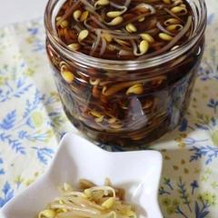 コンナムル・チャンアチ(豆もやし醤油浸け)