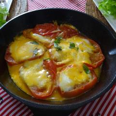 トマトのチーズ焼き!