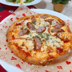 生地から手作りピザ