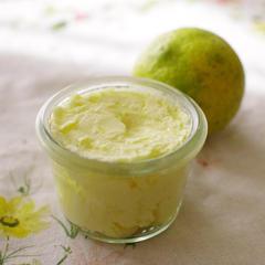 柑橘とゲランド塩のバター