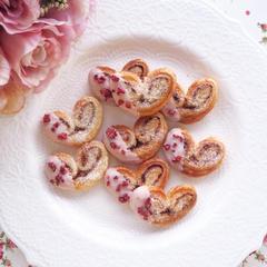 バレンタインにぴったり簡単パルミエ