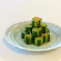 胡瓜の白キムチ