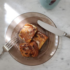 【日常】こんがり豆乳フレンチトースト