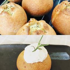 自家製酵母で作る新じゃがパン