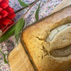 ココナッツオイルで作るバナナケーキ