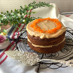 極旨☆ピーナッツバター キャロットケーキ