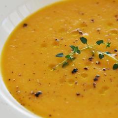 甘い人参のスープ