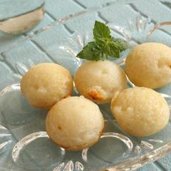 たこ焼き器でつくる ベトナムココナッツミルク餅