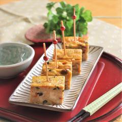 擬製豆腐(豆腐の卵焼き)