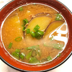 サツマイモのお味噌汁(鬼滅の刃)
