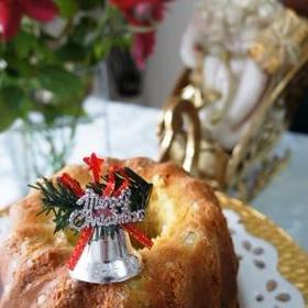 クリスマス クグロフのケークサレ