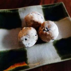 白砂糖・乳製品不使用♪簡単ゴマボールクッキー