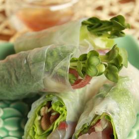 アボカド鯵の野菜たっぷりゴイ・クゥーン