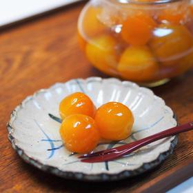 金柑の甘露煮(金柑のコンポート)