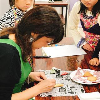 アイシングクッキー講師Kanae