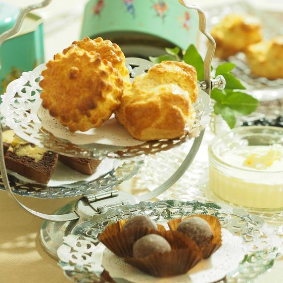 発酵バターで作るスコーン&コンフィチュールをご紹介します。