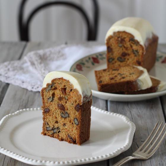 イギリス人から教わった・本場イギリスのキャロットケーキ