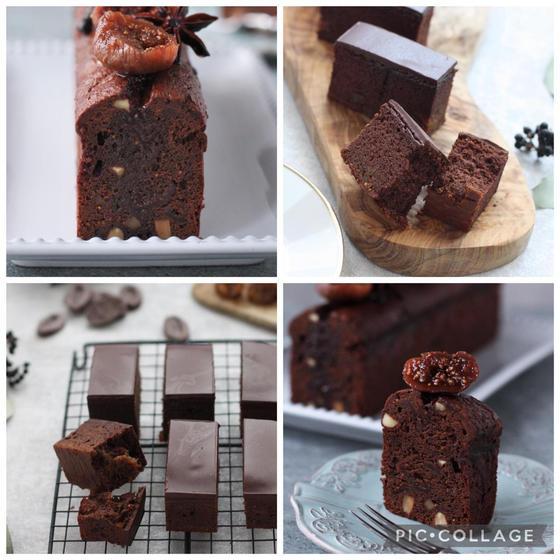 【チョコレート①】いちじくとショコラの贈るケイク2種~第1部