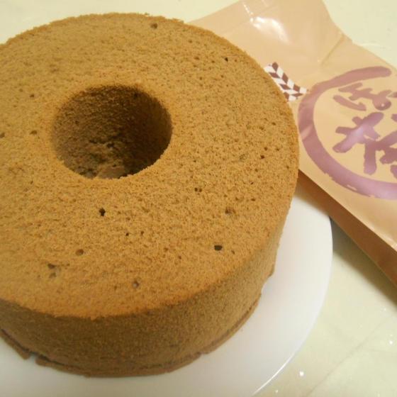 シフォンケーキ2種類ときのこカレー南蛮