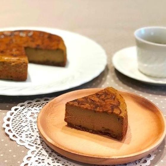 一回完結☆コーヒーベイクドチーズケーキ