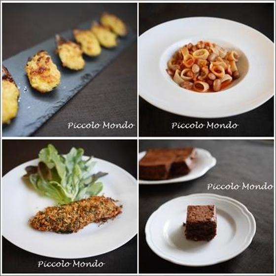 イタリア料理&バレンタインドルチェレッスン