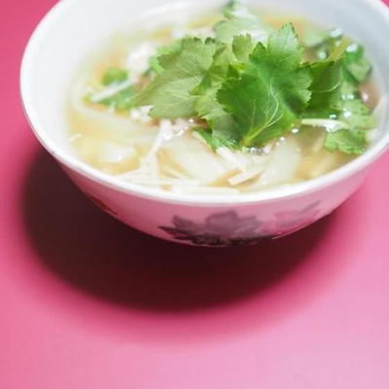 切り干し大根とえのきのスープ