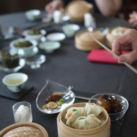 中国茶五種のみ比べ