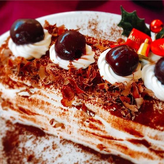 【こども】クリスマスケーキ&ローストチキン&クラムチャウダー