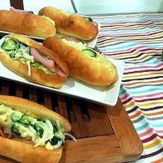 2時間完結 すごくおいしいパンで コッペパンを作ろう
