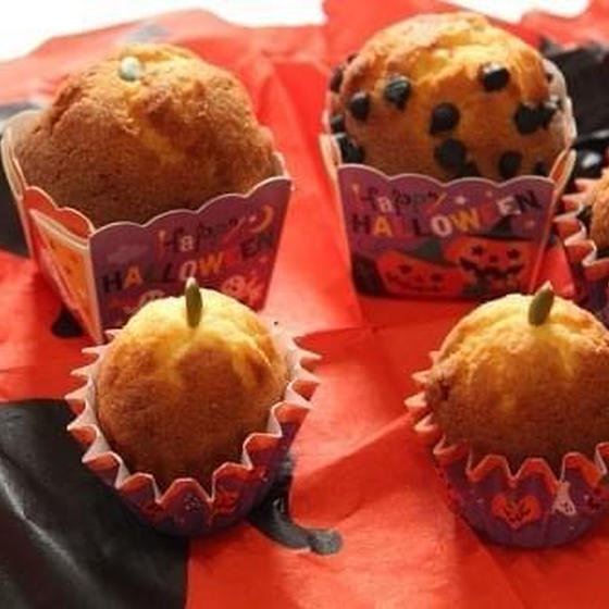 ハロウィン子供お菓子作り