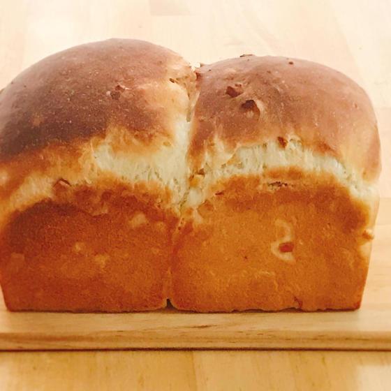 酒種酵母で作る『 オレンジピールの山食パン 』