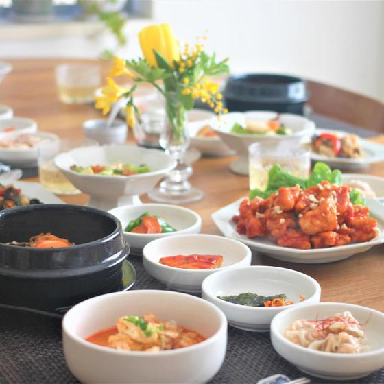 秋の韓国料理