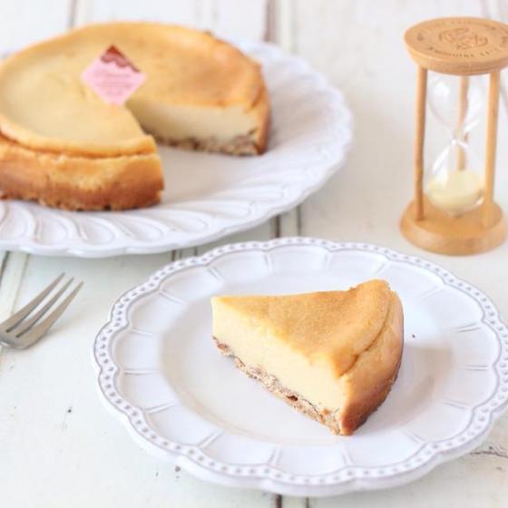 グルテンフリー・米粉のベイクドチーズケーキ