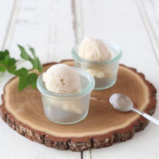 米粉のアイス