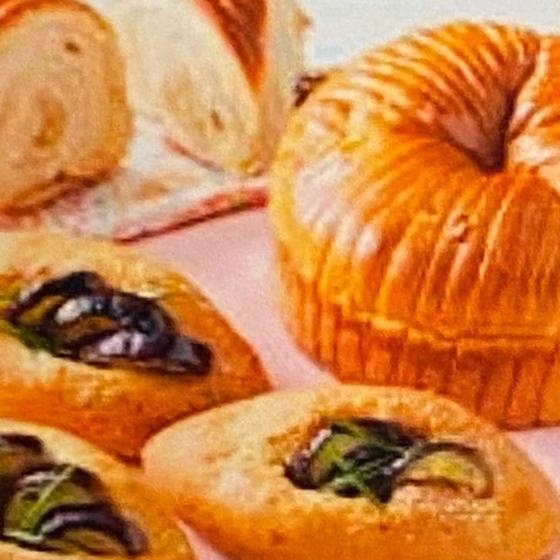 ピーナツバターのウールパンと秋茄子のラグーソースパン