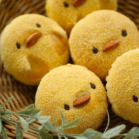 かわいい♪美味しい!はまくまパン春コース(パンとおやつ作り)