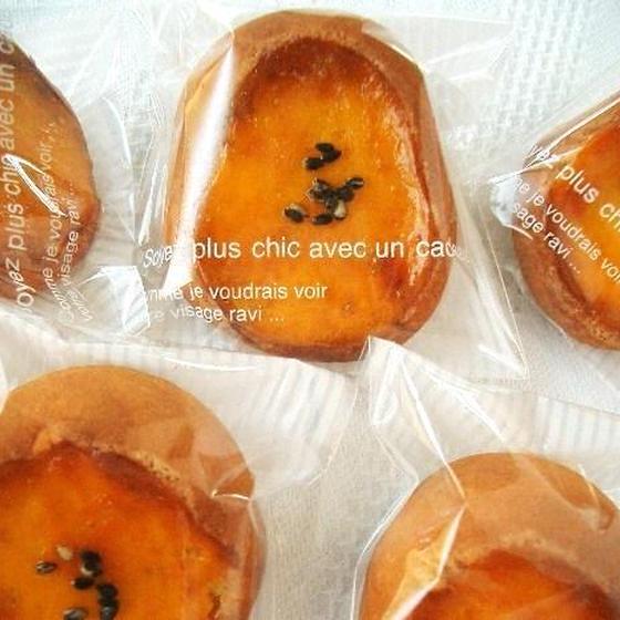 サツマイモで作る和菓子♪ 黄金芋・こがねいも