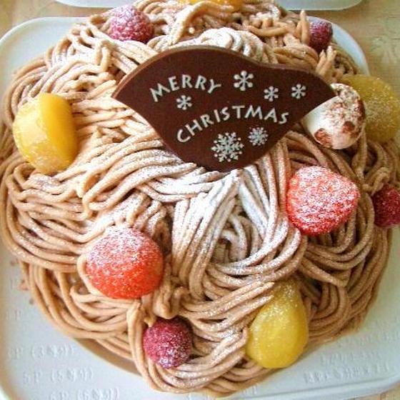 マンツーマンレッスン♬モンブラン風・クリスマスケーキ
