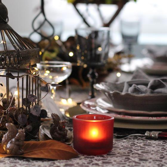 テーブルコーディネートクリスマス体験レッスン